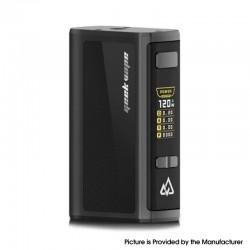 Authentic GeekVape Obelisk 120 FC Z 120W TC VW Variable Wattage Box Mod w/ Fast Charger - Black, 5~120W, 3700mAh
