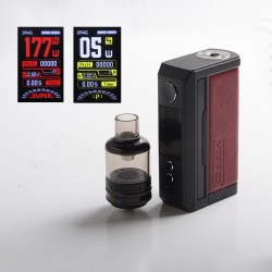[Ships from HongKong] Authentic Voopoo Drag 3 177W VW Mod + TPP Tank Kit - Marsala, 5~177W, 2 x 18650