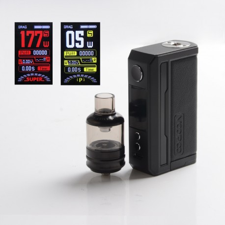 [Ships from HongKong] Authentic Voopoo Drag 3 177W VW Mod + TPP Tank Kit - Classic, 5~177W, 2 x 18650