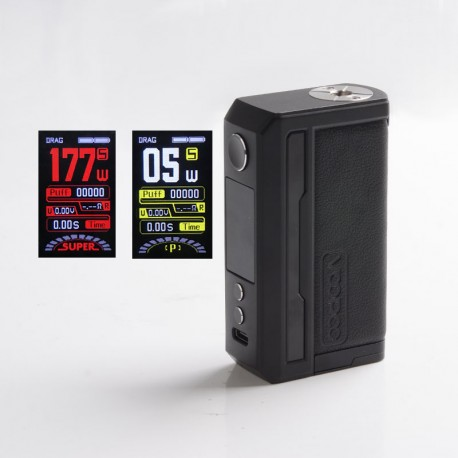 [Ships from HongKong] Authentic Voopoo Drag 3 177W VW Variable Wattage Mod - Classic, 5~177W, 2 x 18650, GENE.FAN 2.0 Chip