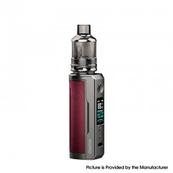 [Ships from HongKong] Authentic Voopoo Drag X Plus 100W VW Pod Mod + TPP Tank Kit - Marsala, 5~100W, 1 X 21700 / 18650