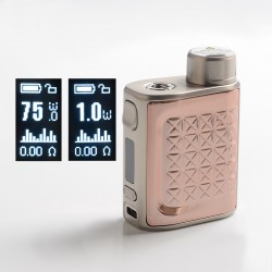 [Ships from HongKong] Authentic Eleaf iStick Pico 2 75W VW Variable Wattage Box Mod - Rose Gold, 1~75W, 1 x 18650