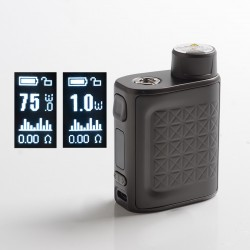 [Ships from HongKong] Authentic Eleaf iStick Pico 2 75W VW Variable Wattage Box Mod - Matte Gunmetal, 1~75W, 1 x 18650