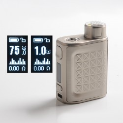 [Ships from HongKong] Authentic Eleaf iStick Pico 2 75W VW Variable Wattage Box Mod - Silver, 1~75W, 1 x 18650