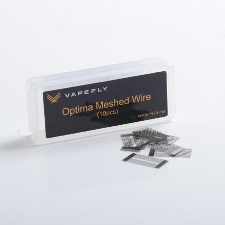 Authentic Vapefly Optima RDTA Pod Cartridge Replacement M2 Mesh Wire - Ni80, 0.3ohm (10 PCS)