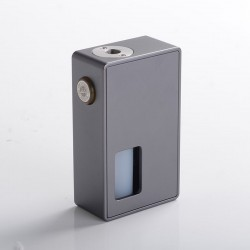Authentic BP Mods Bushido Squonk Vape Mechanical Box Mod - Space Grey, For 22mm BF RDA, 1 x 18650
