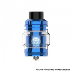 Authentic GeekVape Z Max Sub Ohm Tank Clearomizer Vape Atomizer - Blue, 4.0ml / 2.0ml, 0.14ohm / 0.2ohm, 32mm Diameter