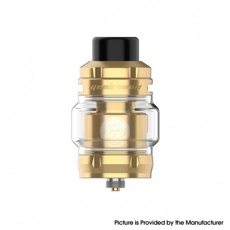 Authentic GeekVape Z Max Sub Ohm Tank Clearomizer Vape Atomizer - Gold, 4.0ml / 2.0ml, 0.14ohm / 0.2ohm, 32mm Diameter