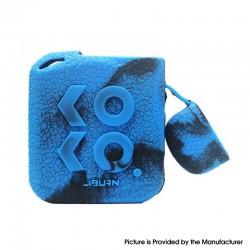 Authentic Vapesoon Protective Case Sleeve for Uwell Caliburn KOKO Prime Pod Kit - Black Blue, Silicone (1 PC)