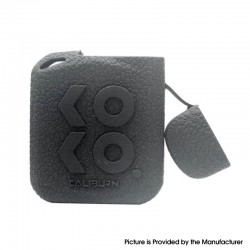 Authentic Vapesoon Protective Case Sleeve for Uwell Caliburn KOKO Prime Pod Kit - Black, Silicone (1 PC)