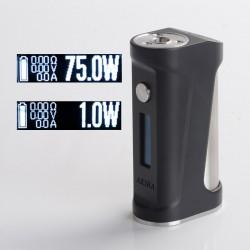 Authentic Ambition Mods & Galactika Mod AKIRA Vape Box Mod 75W - Black, VW 1~75W, TC 200~600'F / 100~300'C, 1 x 18650