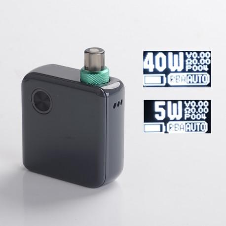 Authentic DEJAVU Pocket 40W VW Variable Wattage AIO Pod System Vape Starter Kit - Grey, 5~40W, 950mAh, 2.0ml, 0.6ohm / 1.0ohm