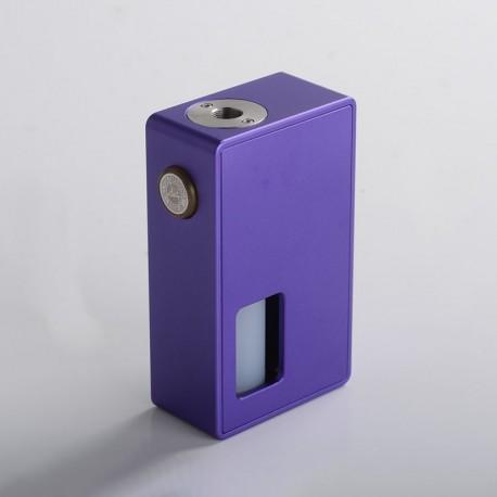 Authentic BP Mods Bushido Squonk Vape Mechanical Box Mod - Grape, For 22mm BF RDA, 1 x 18650