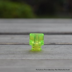 Never Normal Whistle V2 Style 510 Drip Tip for dotMod dotAIO Pod - Fluo Green, PMMA