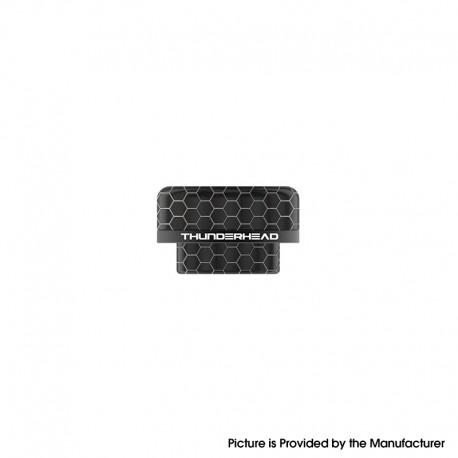 Authentic ThunderHead Creations THC Tauren MAX RDA Replacement 810 Drip Tip - Black Ring (1 PC)