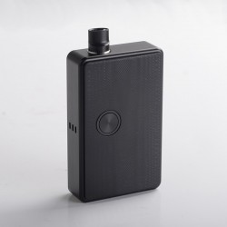 SXK BB Style 70W All-in-One VW Variable Wattage Box Mod Kit w/ USB Port - Black, 1~70W, 1 x 18650, with 2021 Logo