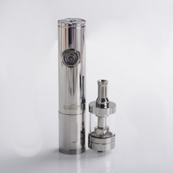 Authentic Eleaf iJust VV Mod + BDC Atomizer Vape Kit - Light Gun, 3.3~4.8V, 1 x 18650 /18350, 3.7ml, 1.6ohm/1.8ohm, 23mm Dia