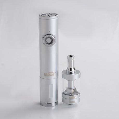 Authentic iSmoka Eleaf iJust VV Mod + BDC Atomizer Vape Kit - Silver, 3.3~4.8V, 1 x 18650 /18350, 3.7ml, 1.6ohm/1.8ohm, 23mm Dia