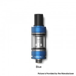 Authentic SMOKTech SMOK Gram-16 Sub Ohm Tank Clearomizer Vape Atomizer - Blue, 2.0ml, 0.6ohm, 16mm Diameter