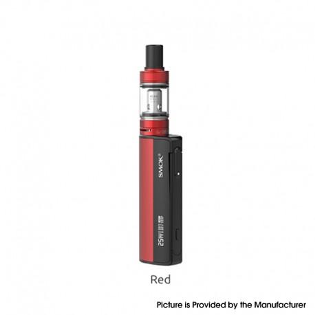 Authentic SMOKTech SMOK Gram-25 Mod + Gram-16 Tank Atomizer Vape Kit - Red, 1~25W, 900mAh, 2.0ml, 0.6ohm, 16mm Diameter
