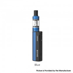 Authentic SMOKTech SMOK Gram-25 Mod + Gram-16 Tank Atomizer Vape Kit - Blue, 1~25W, 900mAh, 2.0ml, 0.6ohm, 16mm Diameter