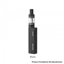 Authentic SMOKTech SMOK Gram-25 Mod + Gram-16 Tank Atomizer Vape Kit - Black, 1~25W, 900mAh, 2.0ml, 0.6ohm, 16mm Diameter