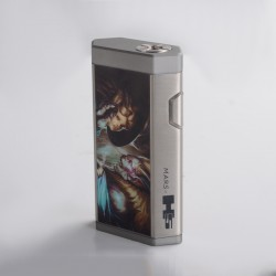 Authentic Mars H5 Mechanical Vape Box Mod - Beauty and the Pirate, 2 x 18650