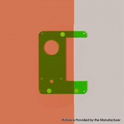 Authentic ETU Replacement Inner Panel for Dotaio Mini Vape Pod System Kit - Translucent Green, PC (1 PC)