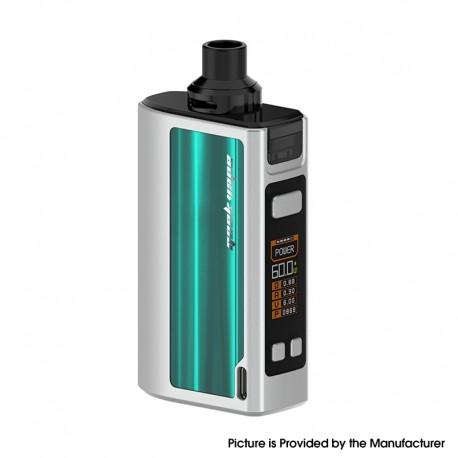 Authentic GeekVape Obelisk 60 AIO All-in-One Vape Mod Kit - Green, 5~60W, 2200mAh, 4.0ml, 0.4ohm / 0.5ohm