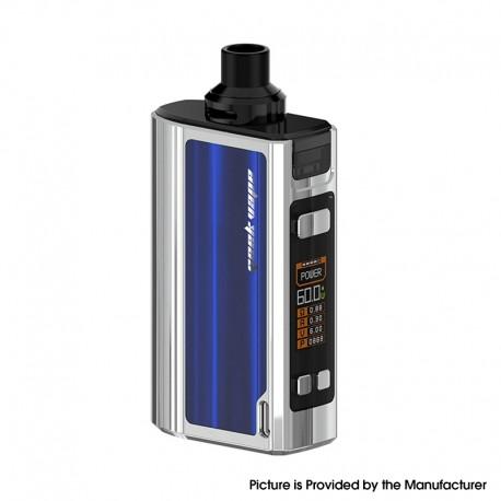 Authentic GeekVape Obelisk 60 AIO All-in-One Vape Mod Kit - Blue, 5~60W, 2200mAh, 4.0ml, 0.4ohm / 0.5ohm