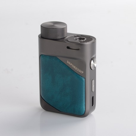 Authentic Vaporesso Swag PX80 80W VW Variable Wattage Box Mod - Emerald Green, 5~80W, 1 x 18650, AXON Chip