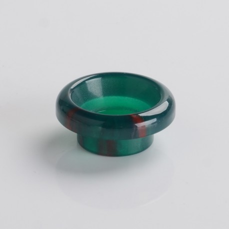 810 Drip Tip for 528 Goon / Kennedy / Reload RDA - Green, Resin, 8.4mm