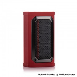 Authentic Wotofo MDura Pro 230W TC VW Variable Wattage Vape Box Mod - Retro Red, 5~230W, 2 x 18650, NEXCHIP