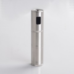 Authentic Ambition Mods Converter 50W VW Variable Wattage Tube Mod - Silver, 1~50W, TC 200~600'F / 100~315'C, 1 x 18350 / 18650