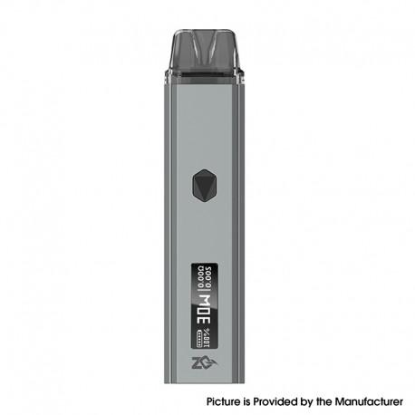 Authentic ZQ Xtal Pro 30W Pod System Vape Starter Kit - Gun Metal, 1~30W, 1000mAh, 3.0ml Pod Cartridge