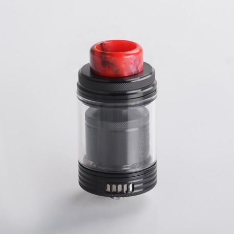 Authentic Wotofo The Troll X RTA Rebuildable Tank Vape Atomizer - Black, 3.0ml / 4.4ml, Single / Dual Coil, 24mm Diameter