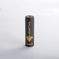 Authentic ThunderHead Creations THC Tauren Hybrid Semi-Mechanical Vape Mech Mod w/ X Chip - Black, Brass, 1 x 18650/20700/21700