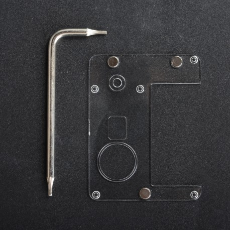 Authentic ETU Replacement Inner Panel for Dotaio Mini Vape Pod System Kit - Transparent, PC (1 PC)