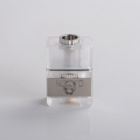 SXK Link'D NFG Style RBTA Bridge Tank for SXK BB / Billet Box - Silver, 316SS + PC, 3.5ml, 1.2 / 2.0 / 2.5 / 3.0 / 3.5mm