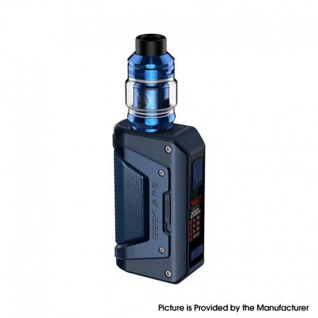 Authentic GeekVape L200 Kit 200W VW Aegis Legend 2 Box Mod + Z Sub ohm Tank Vape Atomizer - Navy Blue, 5~200W, 2 x 18650, 5.5ml