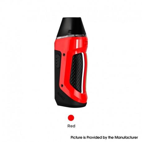 Authentic Geekvape Aegis Nano 30W Pod System Vape Starter Kit - Red, 800mAh, 2.0ml Pod Cartridge, 0.6ohm / 1.2ohm