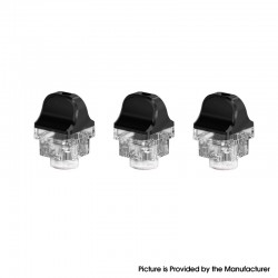 Authentic SMOKTech SMOK RPM 4 Pod Mod Kit Replacement RPM Empty Pod Cartridge - 4.5ml, PCTG (3 PCS)