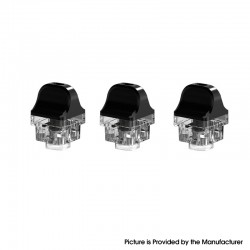 Authentic SMOKTech SMOK RPM 4 Pod Mod Kit Replacement LP2 Empty Pod Cartridge - 4.5ml, PCTG (3 PCS)