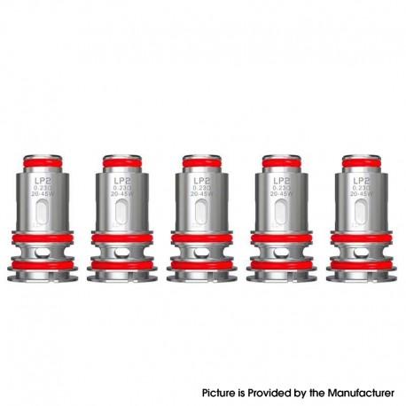 Authentic SMOKTech SMOK RPM 4 Pod Mod Kit / LP2 Pod Cartridge Replacement LP2 Meshed 0.23ohm DL Coil Head - (20~45W) (5 PCS)
