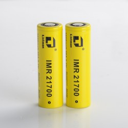 [Ships from Battery Warehouse] Authentic Listman IMR 21700 3800mAh 40A Flat Top Li-ion Rechargeable Battery for Mod - (2 PCS)