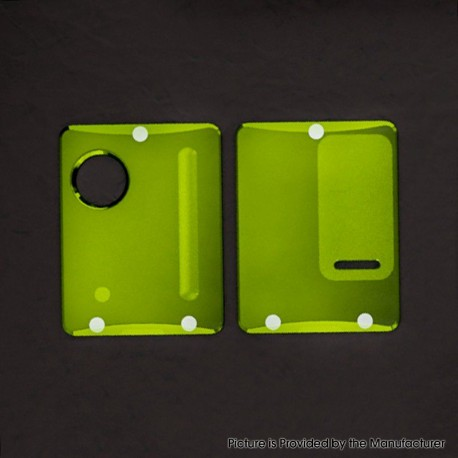 Authentic ETU Replacement Front + Back Cover Panel Plate for Dotaio Mini Vape Pod System Kit - Green, PC