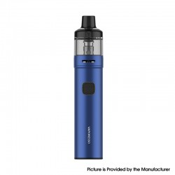 Authentic Vaporesso GTX GO 40 Pod System Pen Vape Starter Kit - Blue, 5~40W, 1500mAh, 3.5ml GTX Pod 22, 0.6ohm