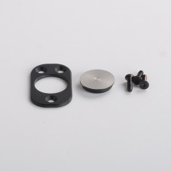Authentic Dovpo x Suicide Mods Abyss AIO 60W Kit Replacement Circle Button Kit - Matte Black