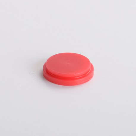 Replacement Button for BB Style Bellit Box Mod - Red, POM (1 PC)