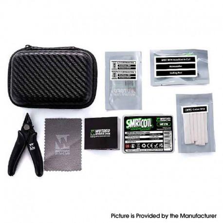 Authentic Wotofo SMRT Pod Kit / Pod Cartridge Replacement SMRT RPM Rebuildable Coil Pack - 0.4ohm / 0.6ohm Mesh Strip